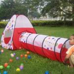 Детская игровая палатка Calida Конус с туннелем + 100 шаров 628